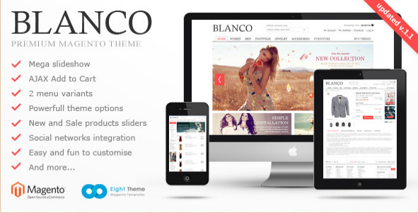 20 best magento templates best selling magento themes for Magento homepage template