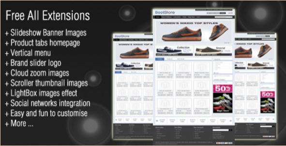 Boot - Magento Shoe Theme
