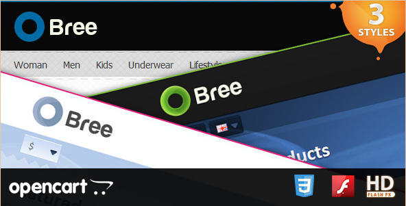 Bree - OpenCart Template