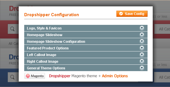 Dropshipper Magento Template