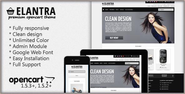Elantra - Premium OpenCart Theme