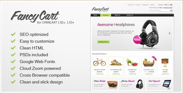 FancyCart - OpenCart Theme