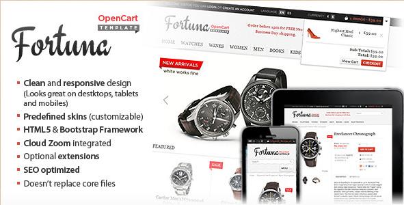 Fortuna - Elegant OpenCart Theme