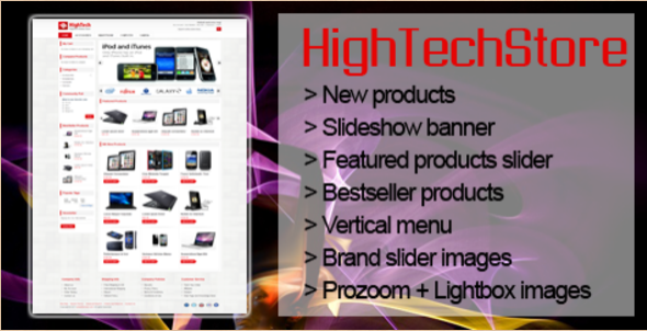 HighTech Magento Template