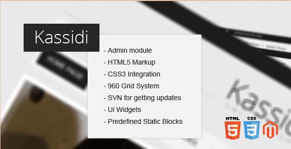 Kassidi - Magento HTML5 Theme