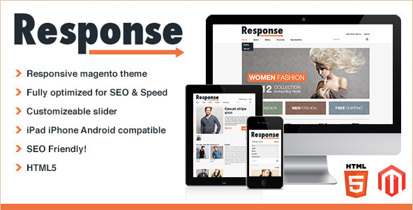 Response - Mobile responsive Magento Theme