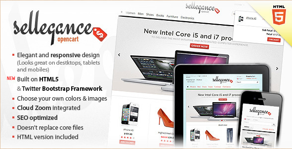 20 Best Selling OpenCart Themes 2012