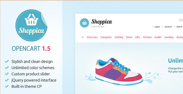Shoppica - Premium Open Cart Theme