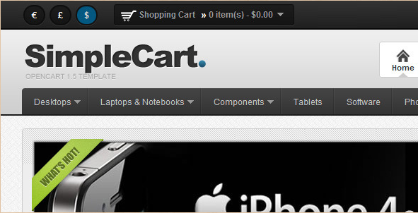 SimpleCart - OpenCart 1.5 and beyond