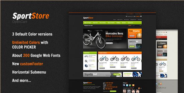SportStore - OpenCart Premium Theme