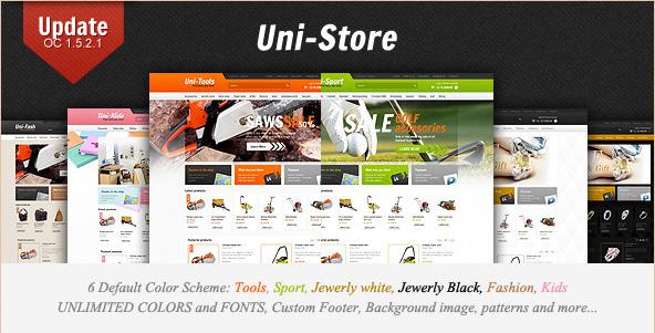 Uni-Store - Universal Opencart Theme