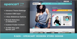Opencart Themes: 20 of the Best Just For You