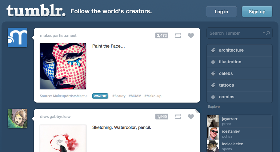 Learn how to modify your Tumblr Header