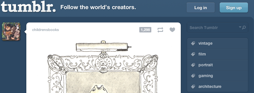 Side bar for Tumblr – How to customize the Tumblr sidebar