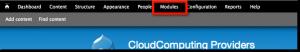 03 - click module menu