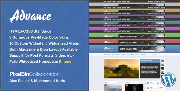 Advance - WordPress Community News Theme