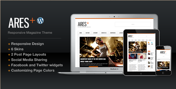 Ares - Blog Magazine Newspaper Theme