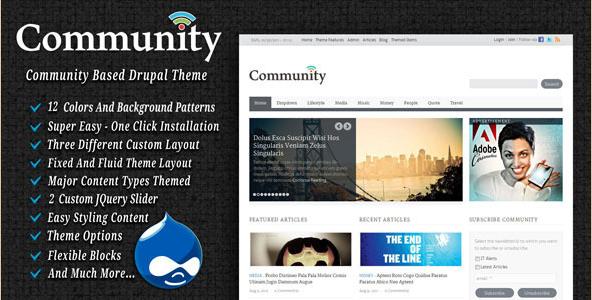 Community - Drupal Community Theme