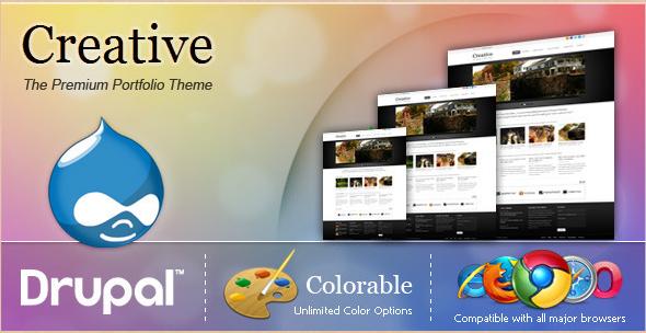 Creative - Premium Portfolio Theme