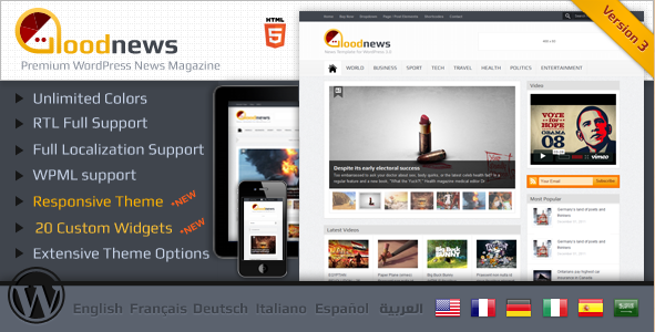 Goodnews - Premium WP News Theme