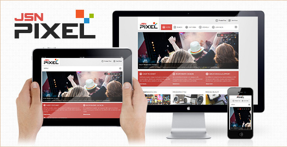 JSN Pixel - Responsive Template and EasyBlog Support