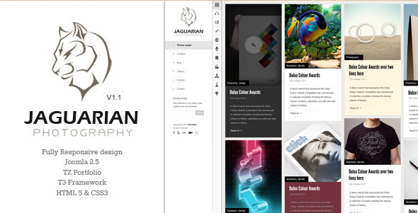 Jagurian - new Joomla 2.5 Template