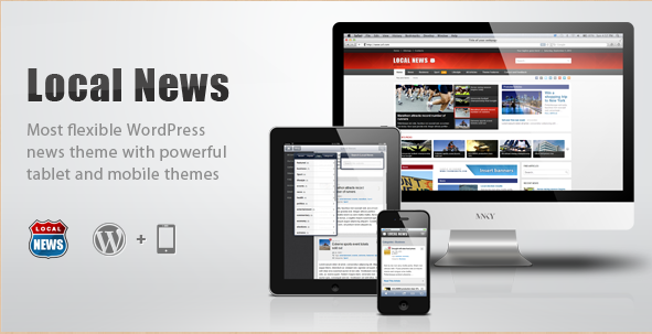 Local News - WP News Mobile Theme
