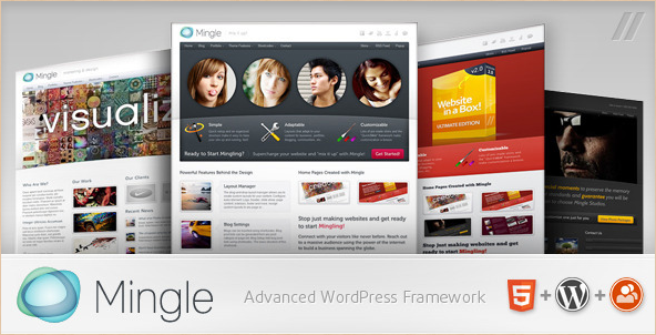 Mingle - BuddyPress Community WordPress Musician Theme