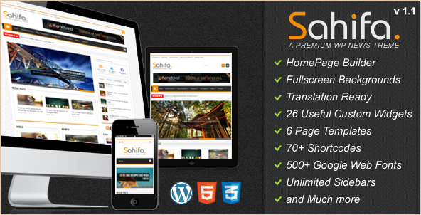 20 of the newest WordPress news themes for 2012