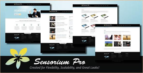 Sensorium Pro - Corporate Portfolio Theme