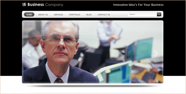 Smart Business Company - Drupal 6 Theme