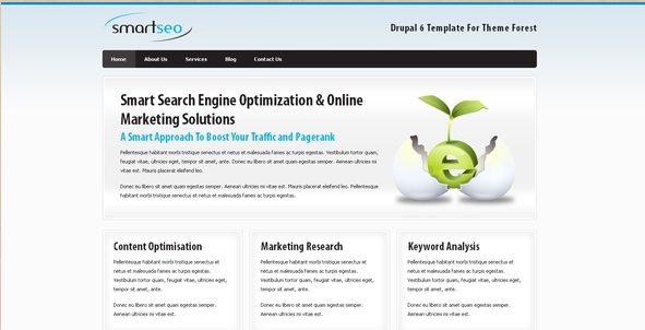 Smart SEO - Drupal 6 Corporate Template