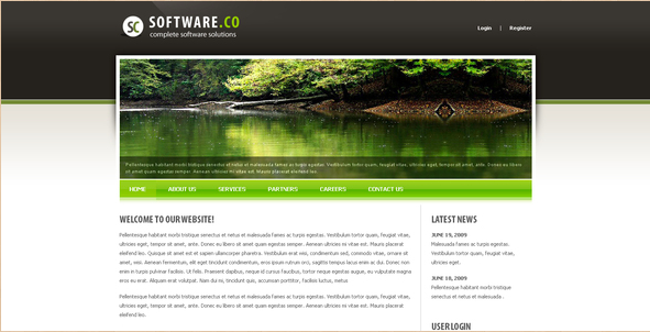 Software CO - Drupal Template