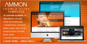 Ammon - Premium Joomla Template