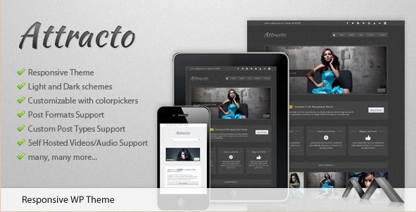 Attracto - Responsive WordPress Creative Theme