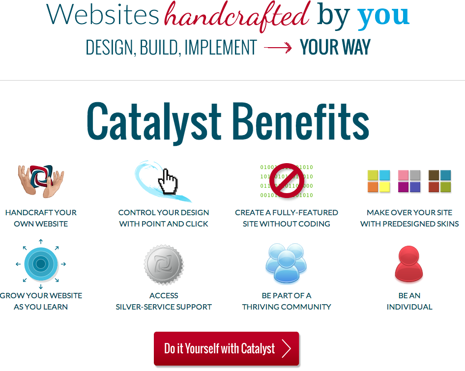 Catalyst Theme - Website Builder