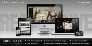 Chocolate - WP Responsive Photography Theme