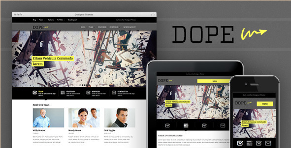 Dope - Responsive WordPress Template