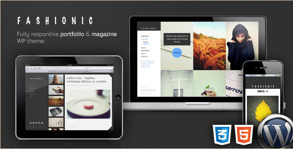Fashionic - WordPress Portfolio Theme