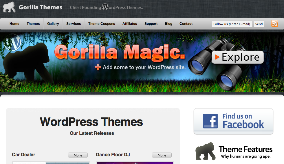 GorillaThemes - WordPress Templates