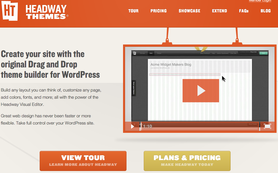 Headway Themes - Drag and Drop Theme Builder