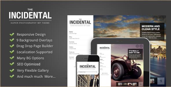 Incidental - Best WordPress Photography Theme