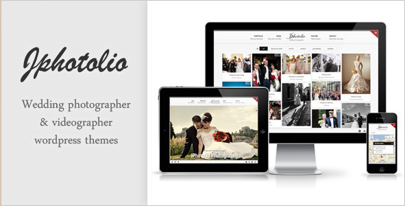 JPhotolio - Responsive WordPress Photography Theme