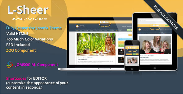 L-Sheer - Magazine Joomla Template