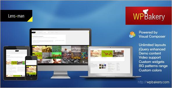 Lensman - WordPress Creative Theme