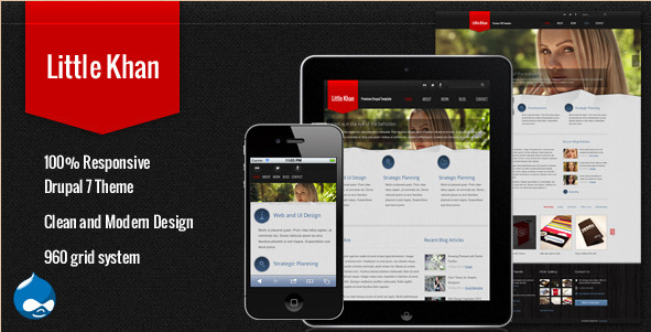 Little Khan - Responsive Drupal Template