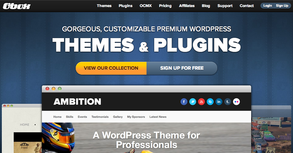 Obox-Design for WordPress Themes