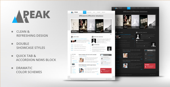 Peak - Drupal Business Theme