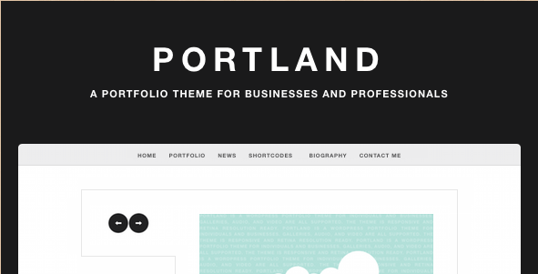 Portland - WordPress Portfolio Theme