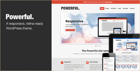 Powerful - Responsive Retina Ready Template